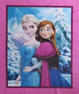 Frozen - Sisters Snowy Scenic Panel