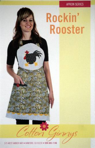 Rockin' Rooster Apron