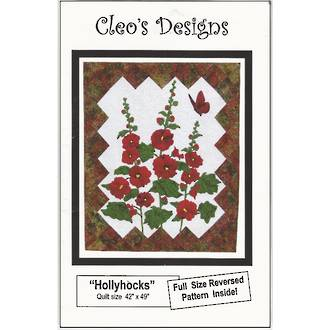 Hollyhocks - Cleo's Designs