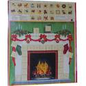 Fireplace Advent Calendar